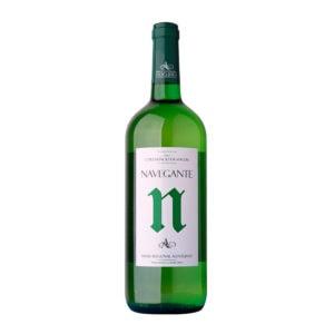 garrafa vinho navegante branco alentejano 1l
