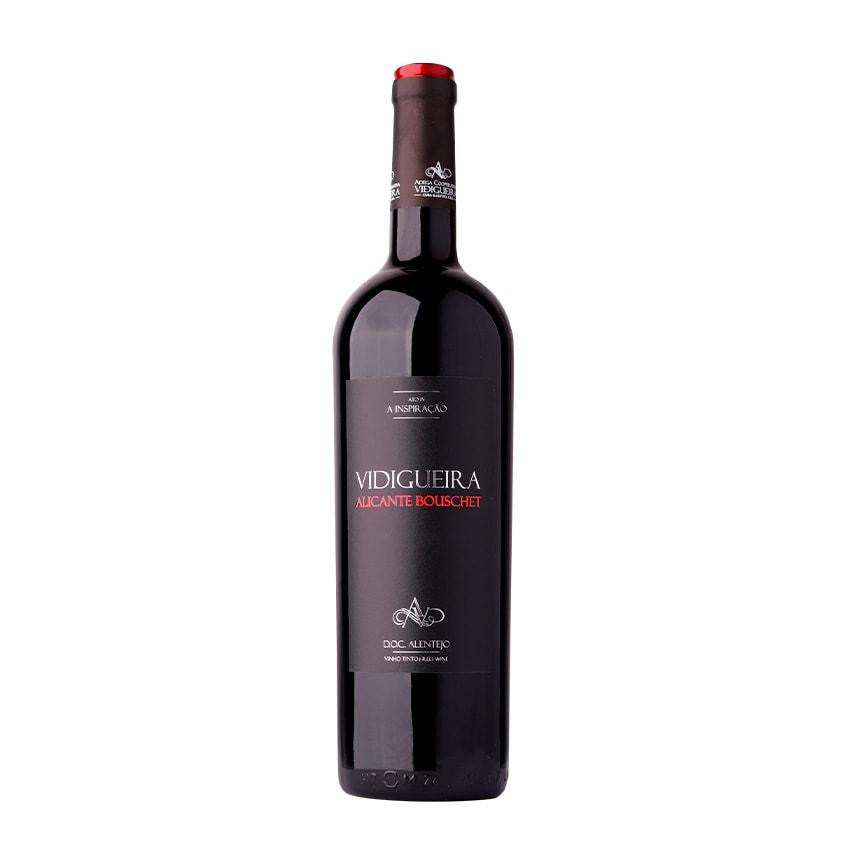 garrafa vinho vidigueira alicante bouschet tinto alentejano doc 075l