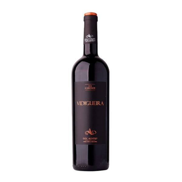 garrafa vinho vidigueira tinto alentejano doc 075l