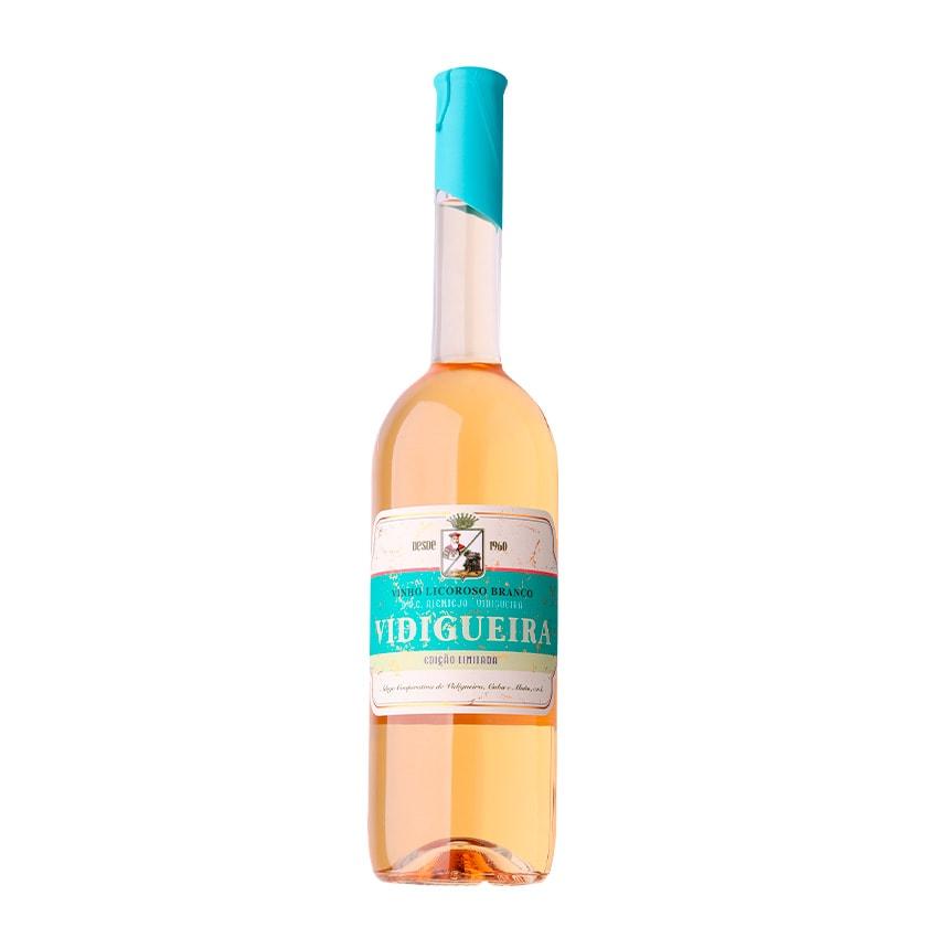 Garrafa vinho alentejano Vidigueira Licoroso Branco 0,75L ACVCA